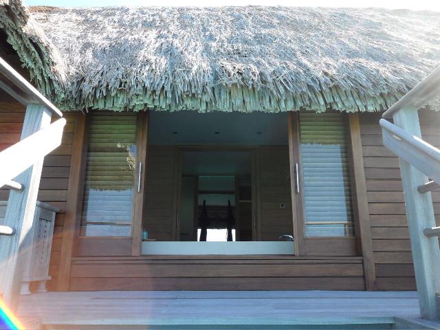 Sofitel and Four Seasons Resort - Bora Bora View